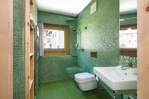 Alpine Lodge Chesa Plattner - Pontresina - Bathroom
