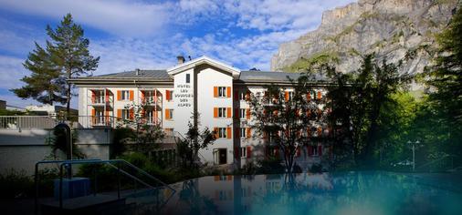 Les Sources Des Alpes - Leukerbad - Rakennus
