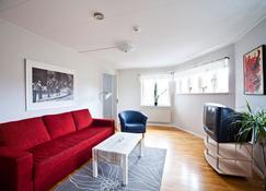Uppsala Lägenhetshotell - Uppsala - Living room