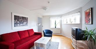 Uppsala Lägenhetshotell - אופסאלה - סלון