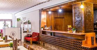Hostal Cortes - كوينكا - مطعم