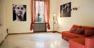 La Casa del Sole a Mergellina - Nápoles - Sala de estar