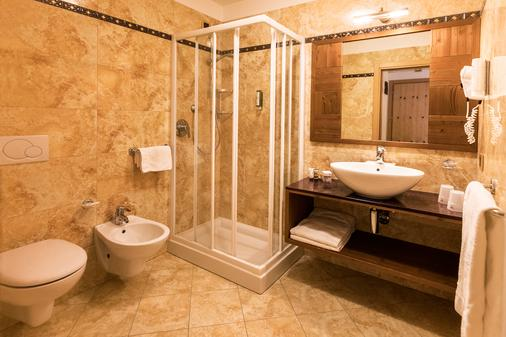 Adler Hotel Wellness & Spa - Andalo - Bathroom