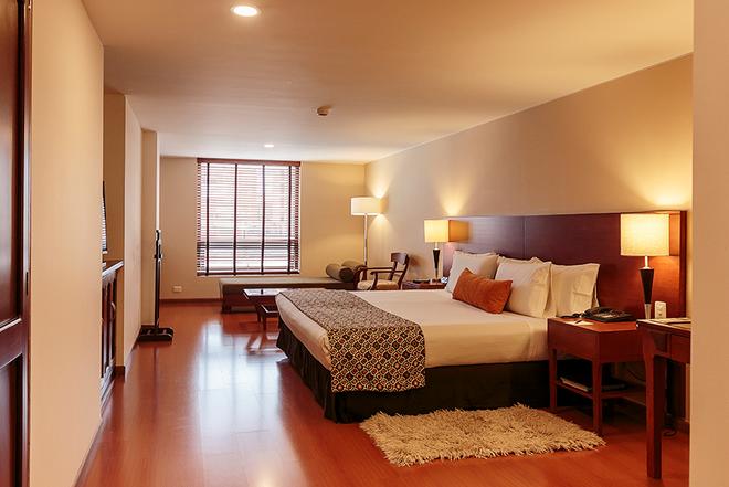鐘斯伊斯特拉套房酒店 - 波哥大 - 波哥大 - 臥室