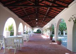 Hotel Atlântico Praia - Rio Grande - Patio