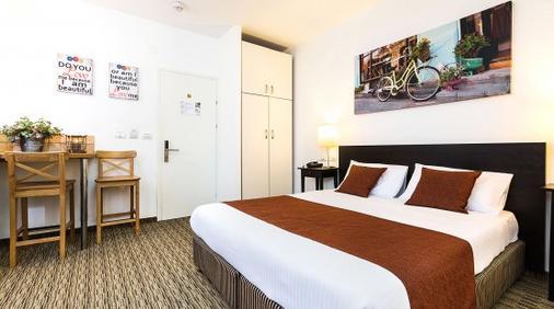 Arbel Suites Hotel - Tel Aviv - Phòng ngủ