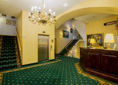 Gutenbergs Hotel - Riga - Front desk