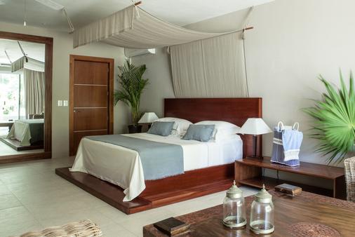 哈施塔酒店 - 圖倫 - 圖盧姆 - 臥室