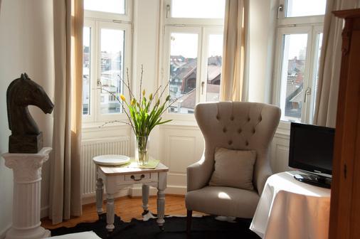 Hotel Auerstein - Heidelberg - Living room