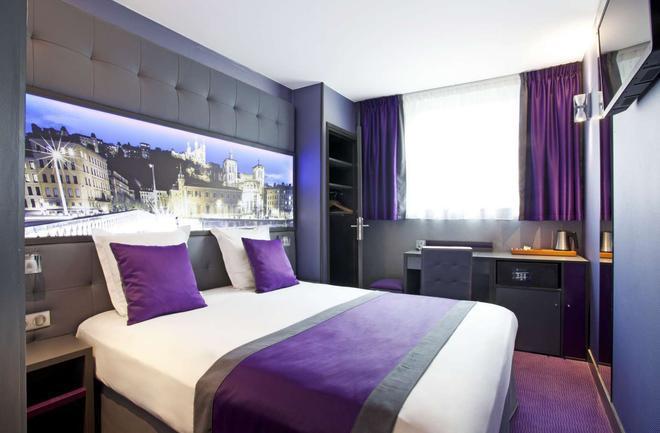 Hotel des Savoies Lyon Perrache - Lyon - Bedroom