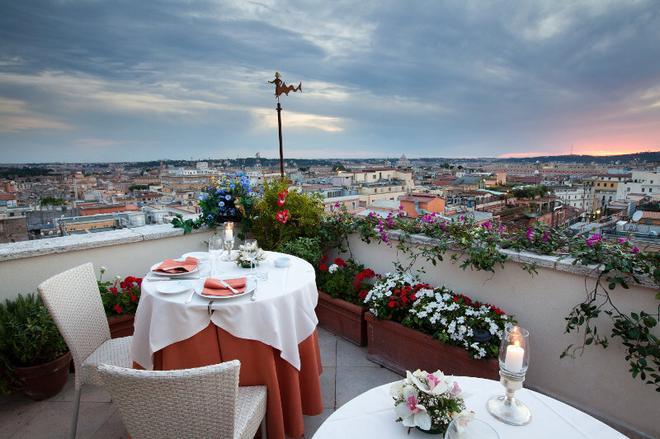 Bettoja Hotel Mediterraneo - Rooma - Parveke
