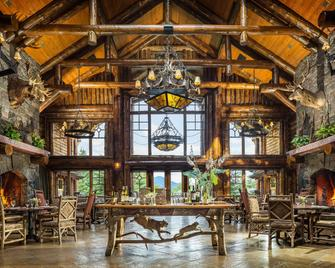 The Whiteface Lodge - Lake Placid - Comedor