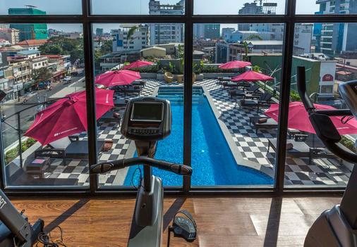 G Mekong Hotel - Phnom Penh - Kuntosali