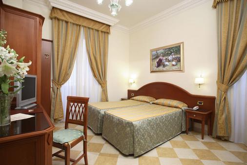 Hotel Contilia - Roma - Stanza da letto