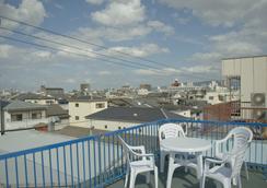 Umbrella House Osaka - Hostel - Osaka - Rooftop