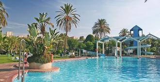Clc Benal Beach Aparthotel - Benalmádena - Pool