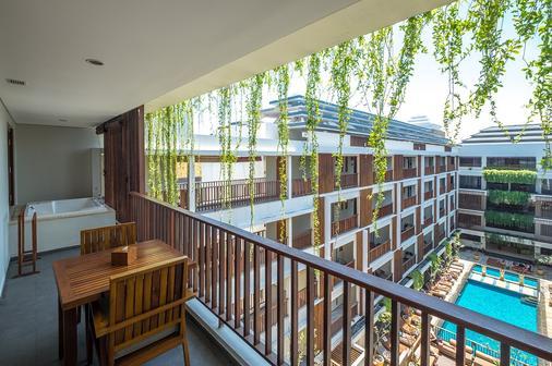 The Magani Hotel and Spa - Kuta - Balcony