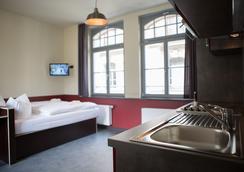 Aparion Apartments Leipzig City - Leipzig - Makuuhuone