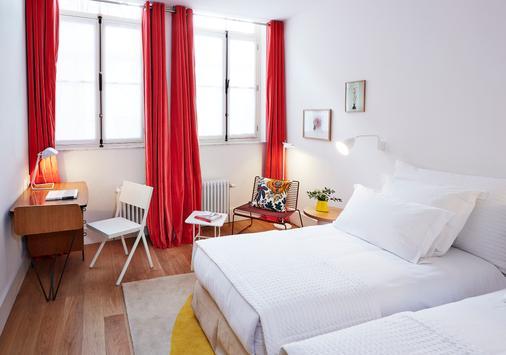 Hotel des Galeries - Bryssel - Makuuhuone