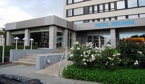 Hotel Melinda - Oostende - Rakennus
