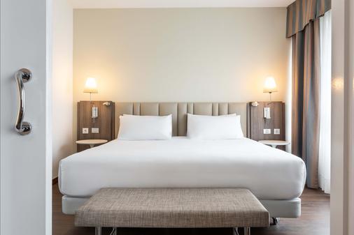 NH 大西洋省拉科魯尼亞酒店 - 科盧納 - 拉科魯尼亞 - 臥室