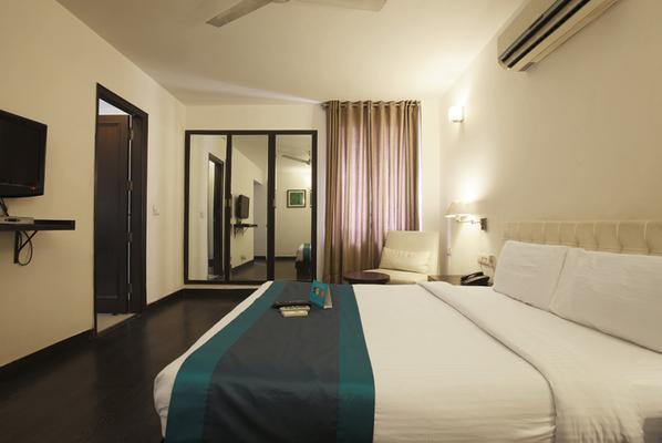 Trinity Art Hotel - New Delhi - Bedroom