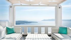 Agali Houses - Firostefani - Balcon