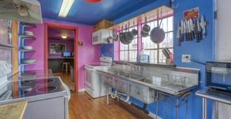 Sin City Hostel Las Vegas - Las Vegas - Kitchen