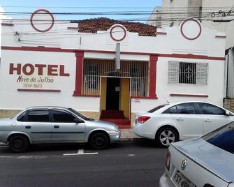 Hotel Nove De Julho - Маріліа - Building