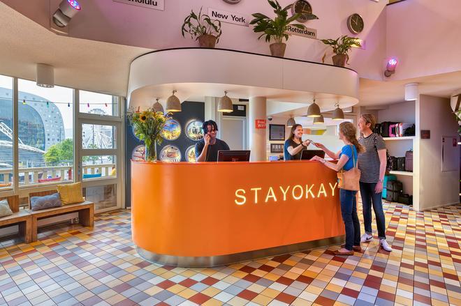 Stayokay Rotterdam - Rotterdam - Vastaanotto