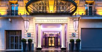 Paris Marriott Opera Ambassador Hotel - Париж - Здание