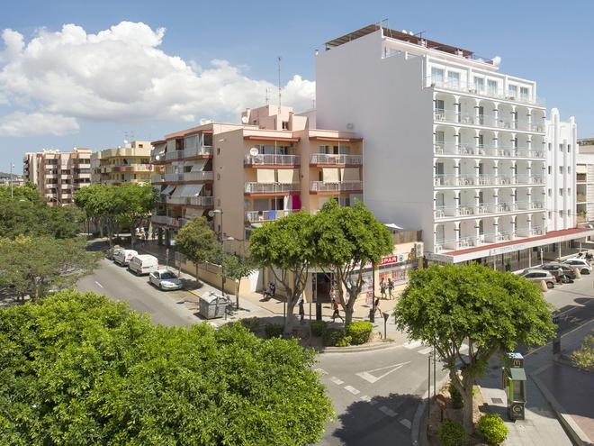 Hotel Central Playa - Ibiza-stad - Gebouw