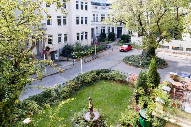 Hotel Residenz Begaswinkel - Berlin - Hàng hiên