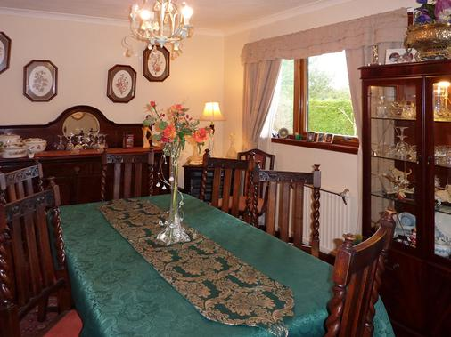 Hawthorn Cottages B&B - Oban - Dining room