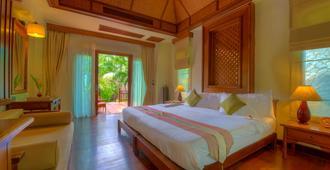 Fair House Villas & Spa - קו סאמוי - חדר שינה