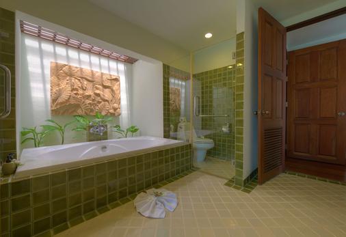 靚屋溫泉別墅及水療中心 - 蘇梅島 - 蘇梅島 - 浴室