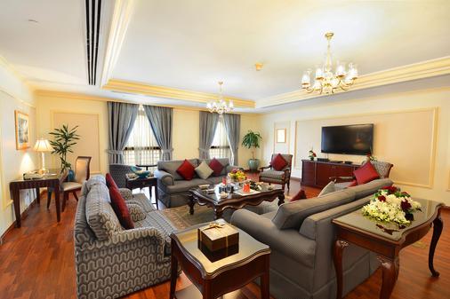 Dar Al Taqwa Hotel - Medina - Σαλόνι