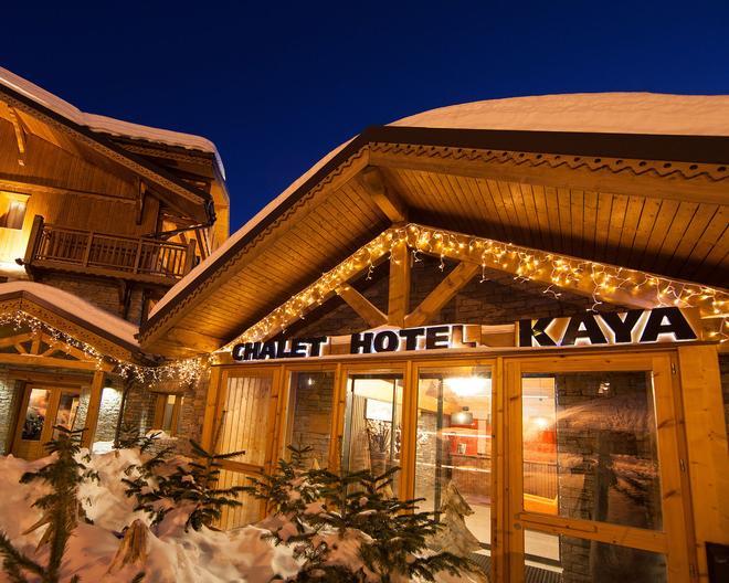 Chalet Hôtel Kaya - Les Ménuires - Gebäude