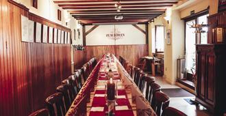 Gasthaus Zum Löwen - פרנקפורט אם מיין - מסעדה