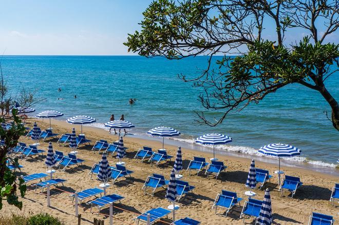Holiday Village - Fondi - Strand