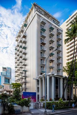 威基基海岸線酒店 - 檀香山 - 建築