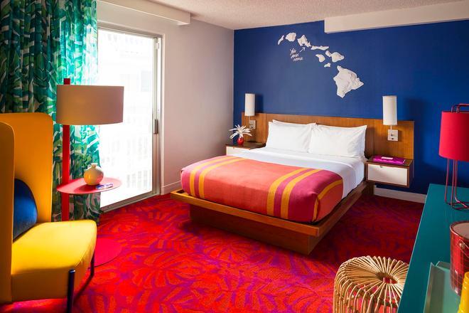威基基海岸線酒店 - 檀香山 - 臥室