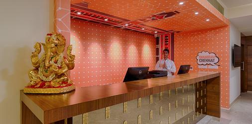 The Belstead Chennai (Near Us Consulate) - Chennai - Front desk