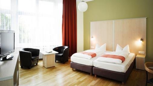 Hotel Hansablick - Berliini - Makuuhuone