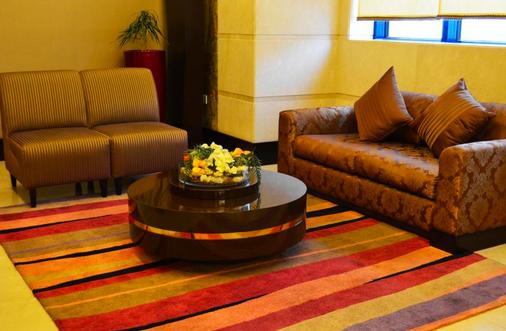 Al Safwa Tower Dar Al Ghufran Hotel - Mekka - Olohuone