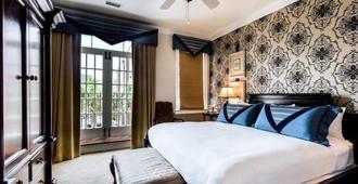 The Vendue - צ'רלסטון - חדר שינה