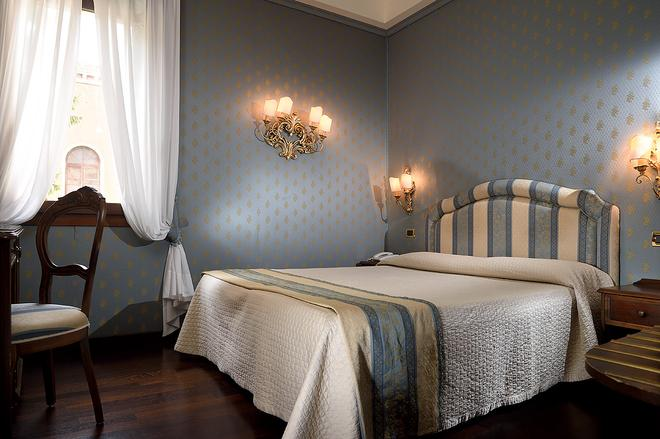 Hotel Abbazia - Venice - Phòng ngủ