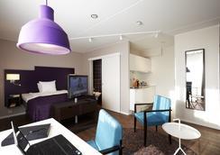 Hotel Finn - Lund - Bedroom