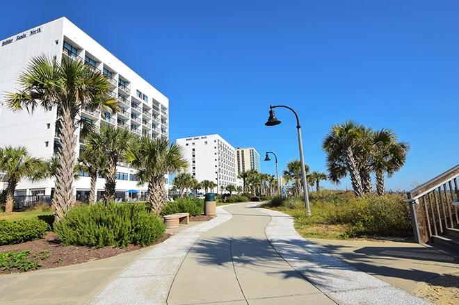 Holiday Sands North On the Boardwalk - Myrtle Beach - Building