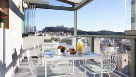 Evripides Hotel - Aten - Balkong